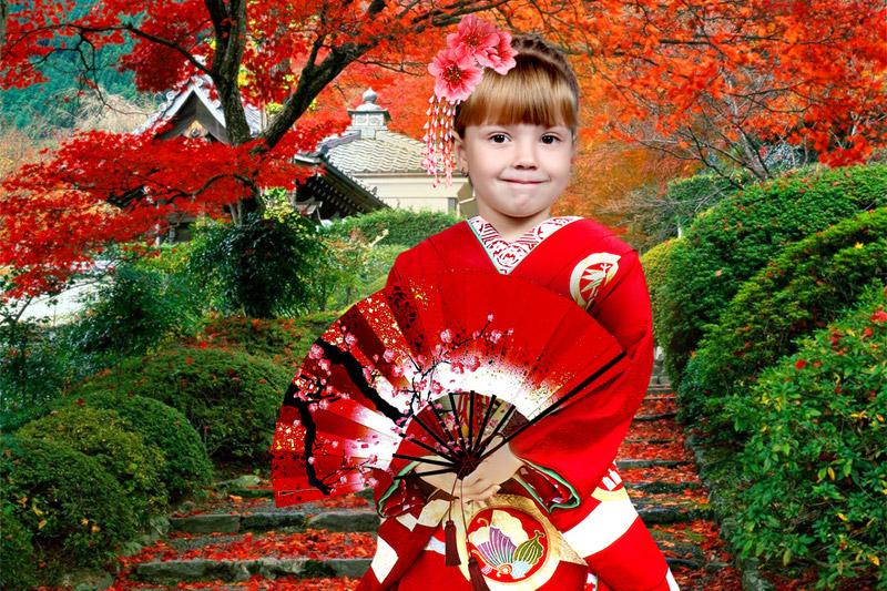 """Фотоколлаж """"Япония"""""""