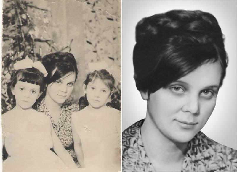 пример реставрации фотографии