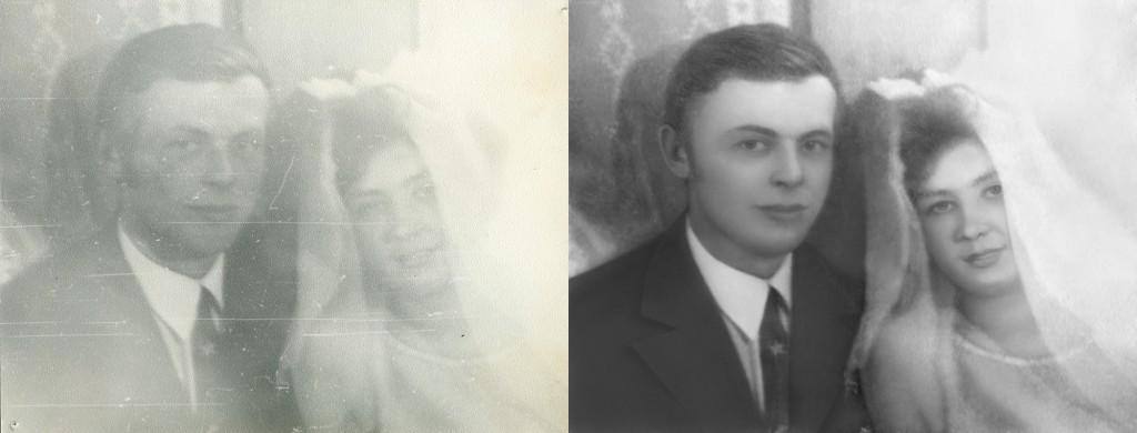 Фотоартель, примеры реставрации